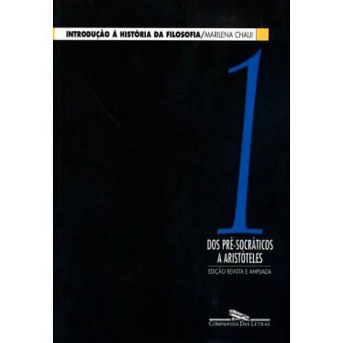 Livro - Introdução a História da Filosofia, V.1