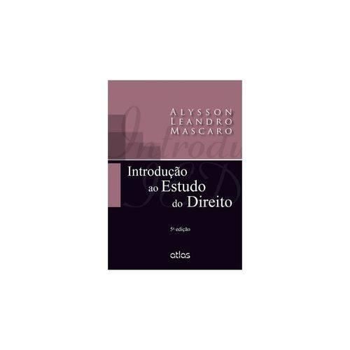 Livro - Introdução ao Estudo do Direito - Mascaro
