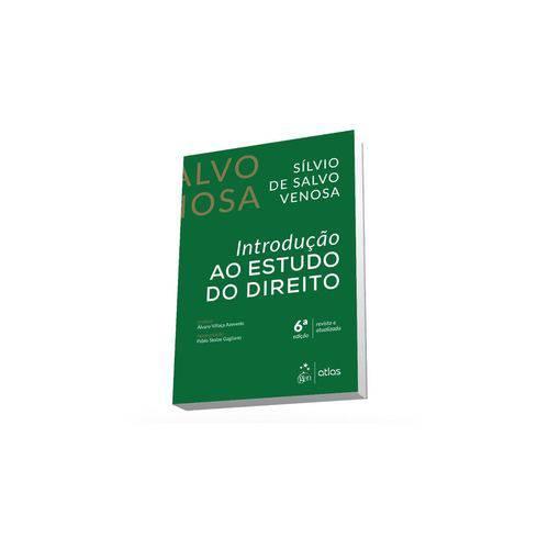 Livro - Introdução ao Estudo do Direito - Venosa