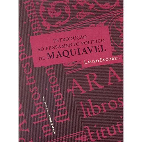 Livro - Introdução ao Pensamento Político de Maquiavel