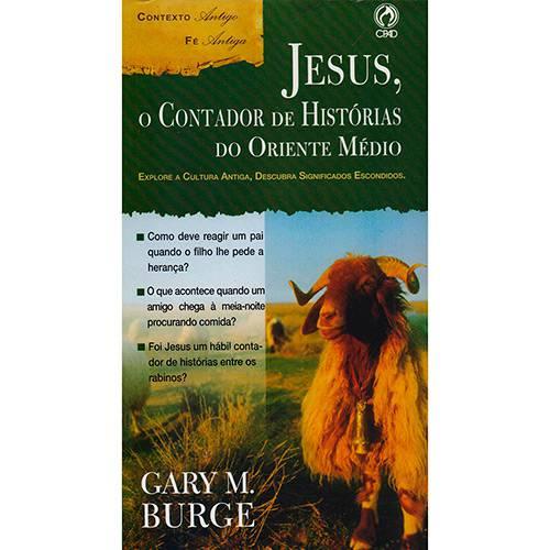 Livro - Jesus, o Contador de Historias do Oriente Medio