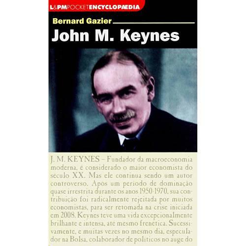 Livro - John M. Keynes - Livro de Bolso