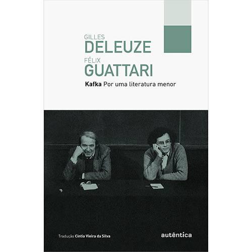 Livro - Kafka: por uma Literatura Menor