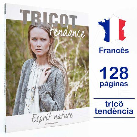 Livro Le Tricot C'est Tendance - Esprit Nature Nº 02