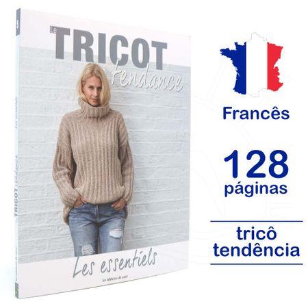 Livro Le Tricot C'est Tendance - Les Essentiels Nº 05
