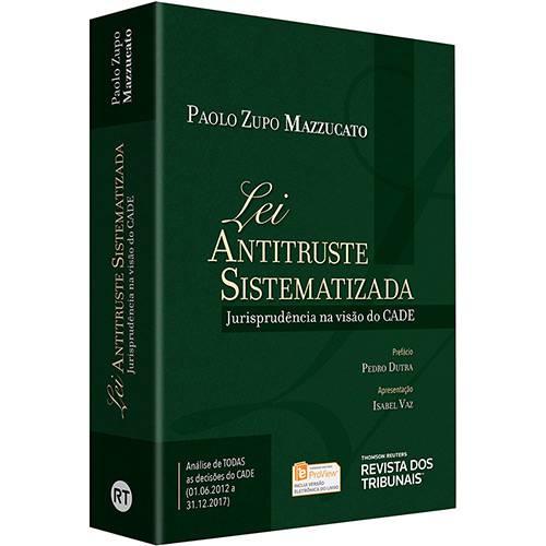 Livro - Lei Antitruste Sistematizada
