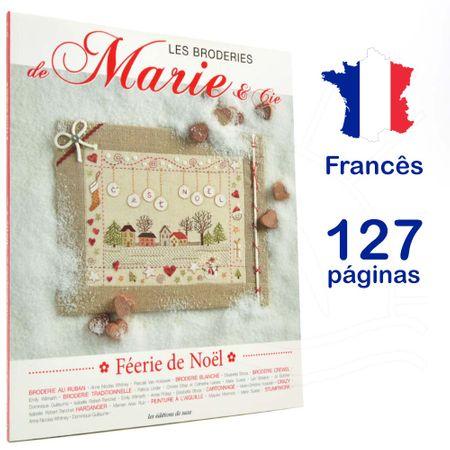 Livro Les Broderies de Marie & Cie Nº 5 - Féerie de Noël