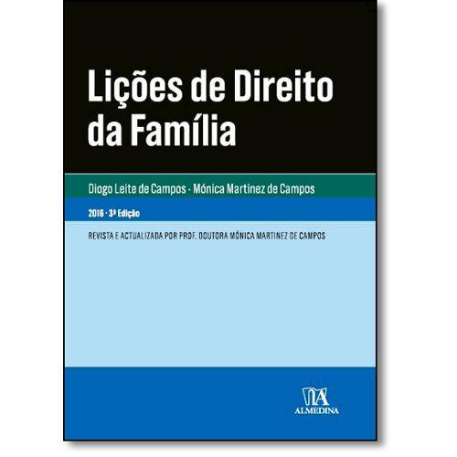 Livro - Lições de Direito da Família