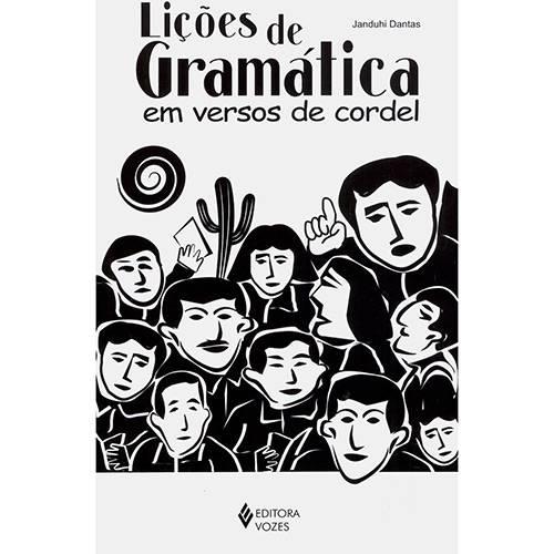 Livro - Lições de Gramática em Versos de Cordel