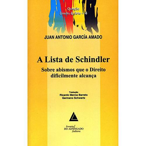 Livro - Lista de Schindler, a
