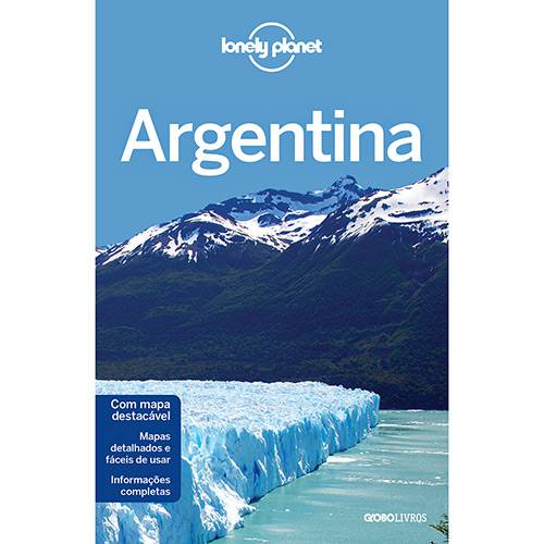 Livro - Lonely Planet Argentina