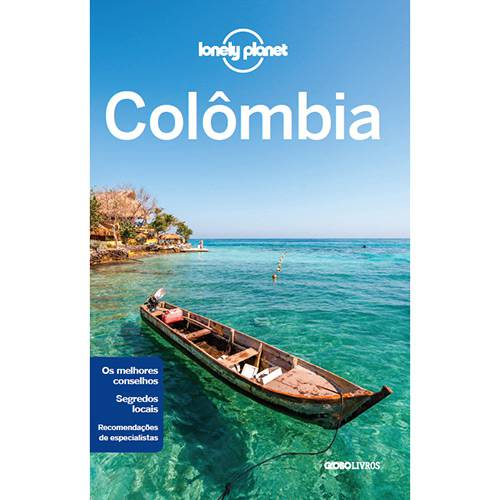 Livro - Lonely Planet Colômbia