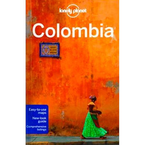 Livro - Lonely Planet: Colombia