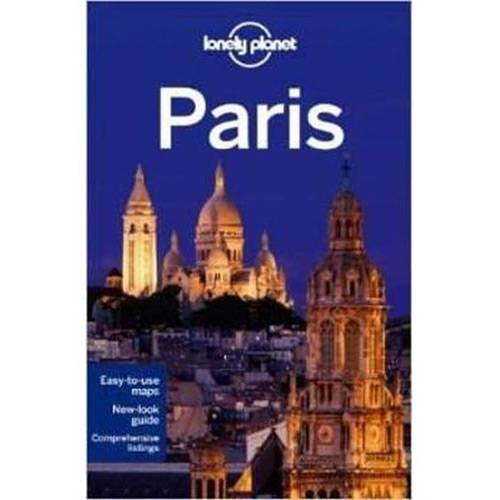 Livro - Lonely Planet: Paris