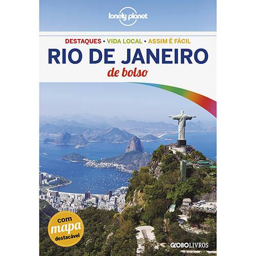 Livro - Lonely Planet Rio de Janeiro de Bolso