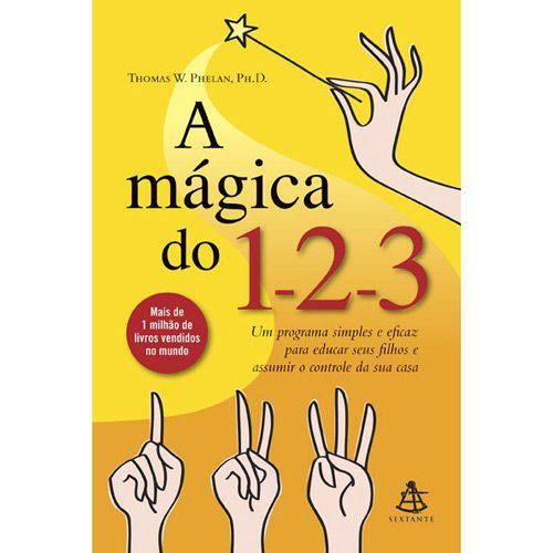 Livro - Mágica 1-2-3, a