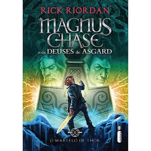 Livro - Magnus Chase e os Deuses de Asgard: o Martelo de Thor