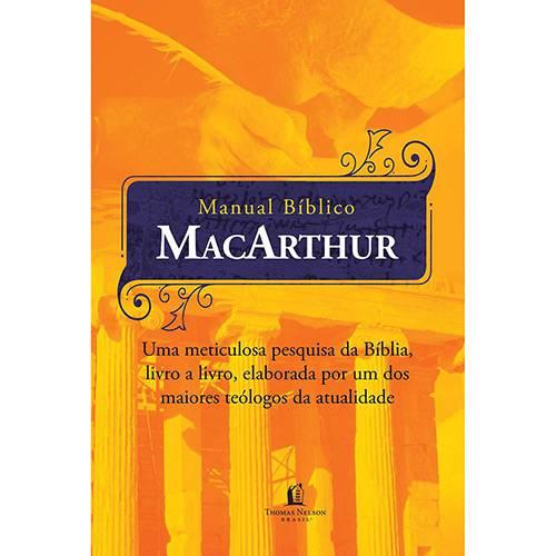 Livro - Manual Bíblico MacArthur