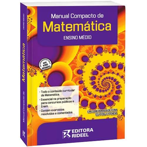 Livro - Manual Compacto de Matemática - Ensino Médio
