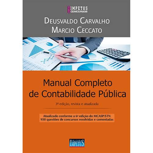 Livro - Manual Completo de Contabilidade Pública