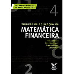 Livro - Manual de Aplicação de Matemática Financeira
