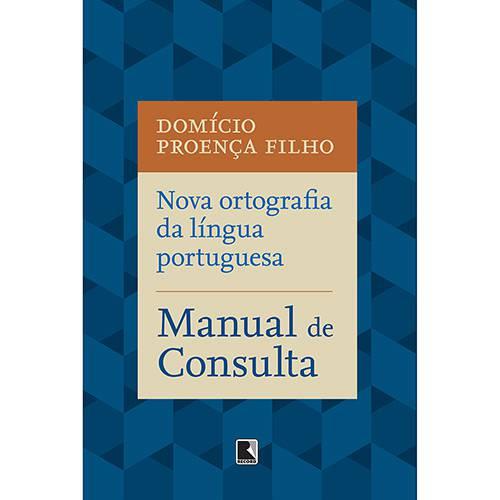 Livro - Manual de Consulta: Nova Ortografia da Língua Portuguesa