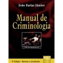 Livro - Manual de Criminologia: Encadernação Especial