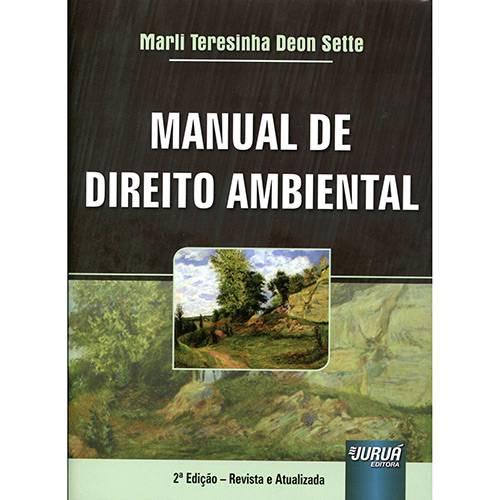 Livro - Manual de Direito Ambiental 2ª Ed.