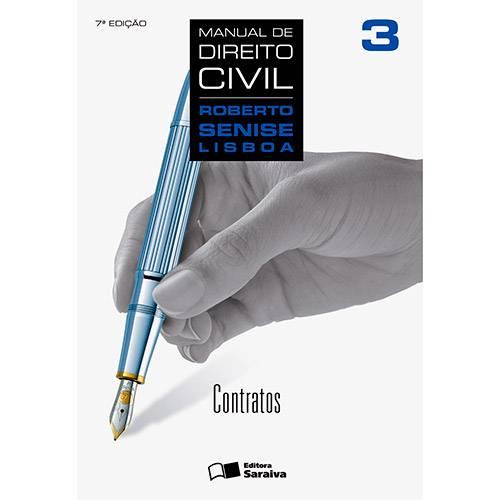 Livro - Manual de Direito Civil: Contratos - Volume 3