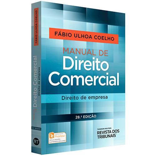 Livro - Manual de Direito Comercial : Direito de Empresa
