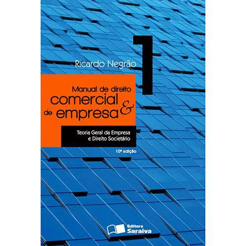 Livro - Manual de Direito Comercial e de Empresa