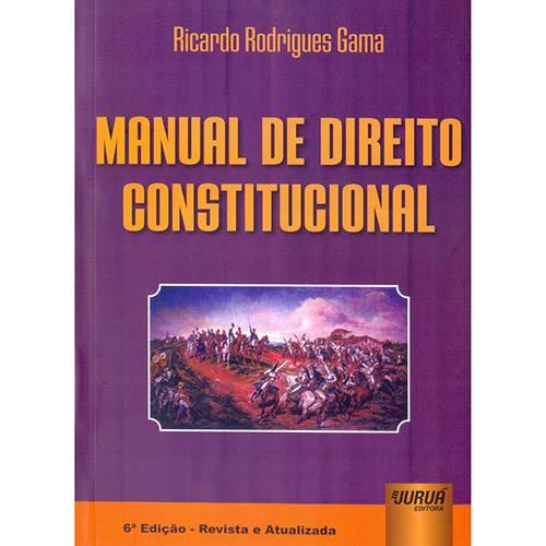 Livro - Manual de Direito Constitucional