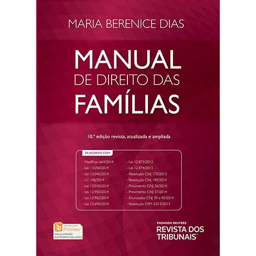 Livro - Manual de Direito das Famílias