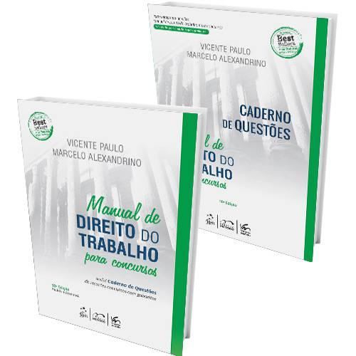 Livro - Manual de Direito do Trabalho para Concursos