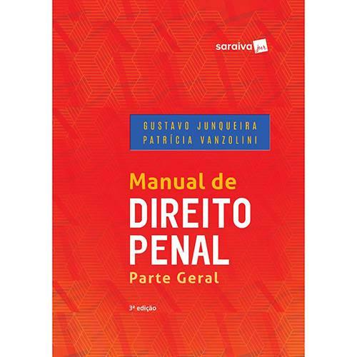 Livro - Manual de Direito Penal: Parte Geral