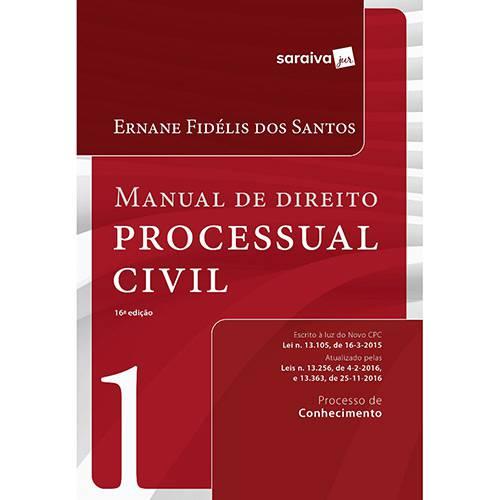 Livro - Manual de Direito Processual Civil: Processo de Conhecimento - Vol. 1
