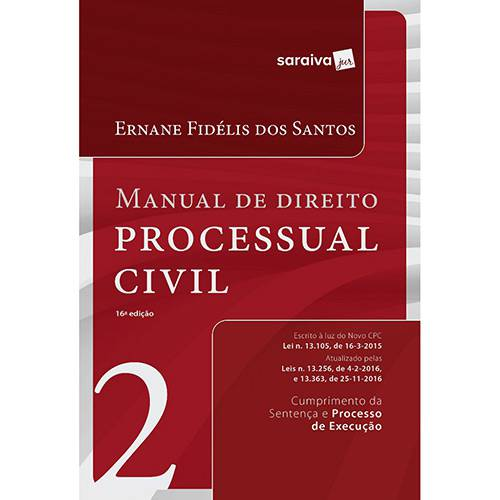 Livro - Manual de Direito Processual Civil - Vol. 2