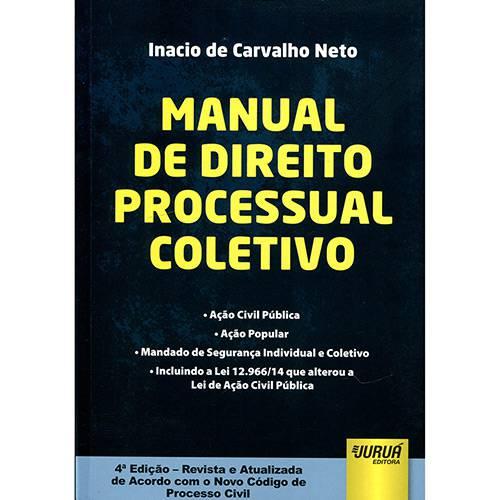 Livro - Manual de Direito Processual Coletivo