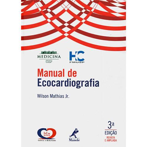 Livro - Manual de Ecocardiografia