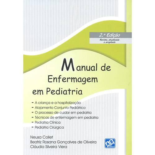 Livro - Manual de Enfermagem em Pediatria