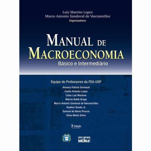 Livro - Manual de Macroeconomia - Básico e Intermediário