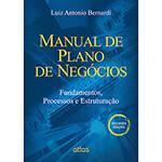 Livro - Manual de Plano de Negócios: Fundamentos, Processos e Estruturação