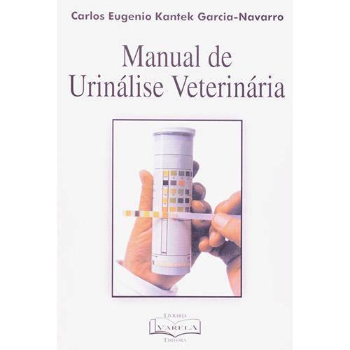 Livro - Manual de Urinalise Veterinaria