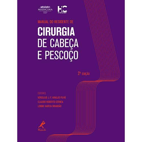 Livro - Manual do Residente de Cirurgia de Cabeça e Pescoço