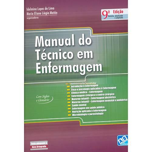 Livro - Manual do Técnico em Enfermagem