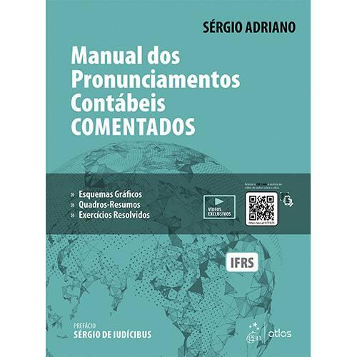 Livro - Manual dos Pronunciamentos Contábeis Comentados