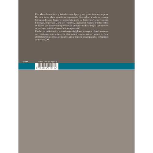 Livro - Manual Jurídico da Empresa