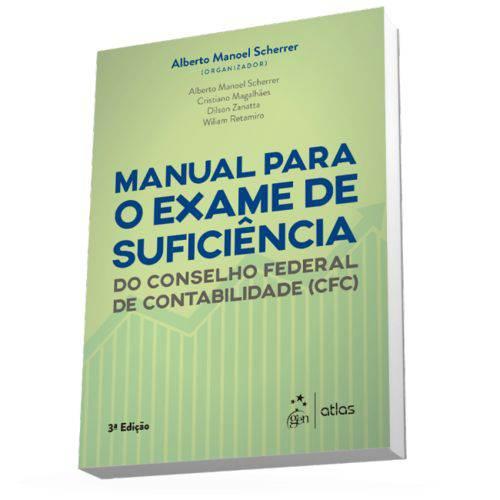 Livro - Manual para o Exame de Suficiência do Conselho Federal de Contabilidade (cfc) - Scherrer