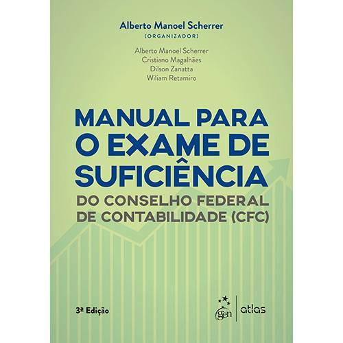 Livro - Manual para o Exame de Suficiência do Conselho Federal de Contabilidade (CFC)