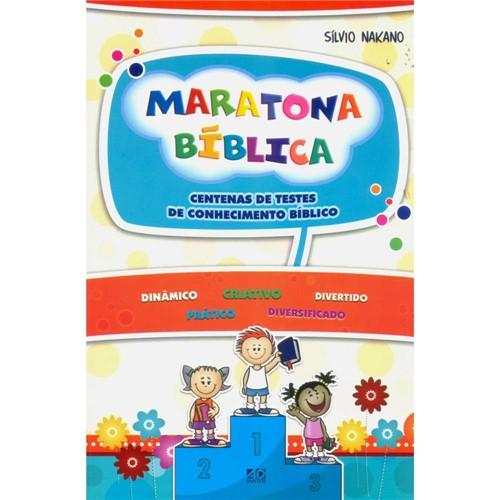 Livro - Maratona Bíblica: Centenas de Testes de Conhecimento Bíblico